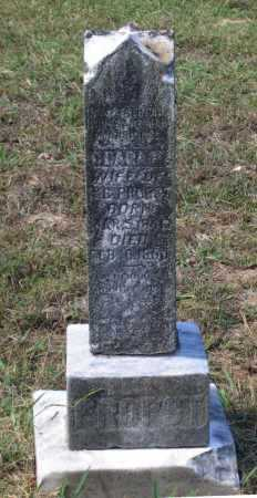 "PROPST, CLARISSA M. ""CLARA"" - Lawrence County, Arkansas | CLARISSA M. ""CLARA"" PROPST - Arkansas Gravestone Photos"