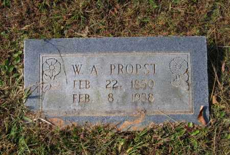 "PROPST (VETERAN CSA), GEORGE WASHINGTON ALEXANDER ""W. A."" - Lawrence County, Arkansas | GEORGE WASHINGTON ALEXANDER ""W. A."" PROPST (VETERAN CSA) - Arkansas Gravestone Photos"