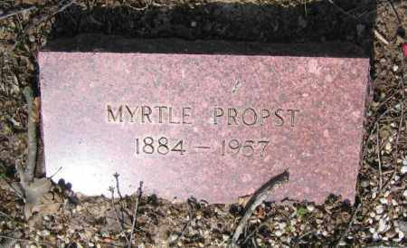 PROPST, MYRTLE ALMA - Lawrence County, Arkansas | MYRTLE ALMA PROPST - Arkansas Gravestone Photos