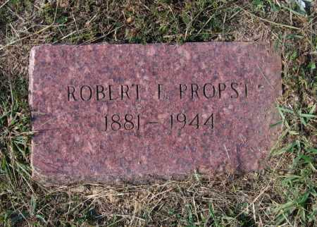 PROPST, SR., ROBERT FRANKLIN - Lawrence County, Arkansas | ROBERT FRANKLIN PROPST, SR. - Arkansas Gravestone Photos