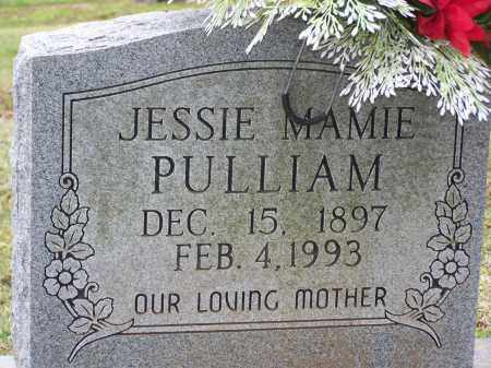 PULLIAM, JESSIE MAMIE - Lawrence County, Arkansas | JESSIE MAMIE PULLIAM - Arkansas Gravestone Photos