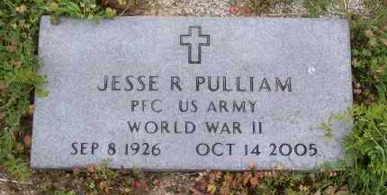 PULLIAM (VETERAN WWII), JESSE ROLAND - Lawrence County, Arkansas | JESSE ROLAND PULLIAM (VETERAN WWII) - Arkansas Gravestone Photos