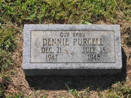 PURCELL, DENNIE - Lawrence County, Arkansas | DENNIE PURCELL - Arkansas Gravestone Photos