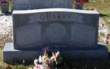 QUARRY, ARTHUR N. - Lawrence County, Arkansas | ARTHUR N. QUARRY - Arkansas Gravestone Photos