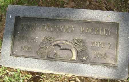 RACKLEY, RUTH DELORICE - Lawrence County, Arkansas | RUTH DELORICE RACKLEY - Arkansas Gravestone Photos