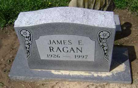 RAGAN, JAMES E. - Lawrence County, Arkansas | JAMES E. RAGAN - Arkansas Gravestone Photos