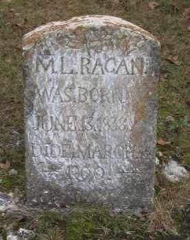 RAGAN, M. L. - Lawrence County, Arkansas   M. L. RAGAN - Arkansas Gravestone Photos