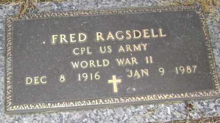 RAGSDELL  (VETERAN WWII), FRED JOSEPH - Lawrence County, Arkansas | FRED JOSEPH RAGSDELL  (VETERAN WWII) - Arkansas Gravestone Photos