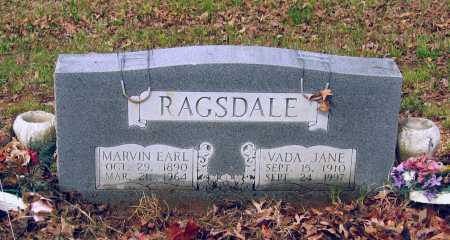 RAGSDALE, VADA JANE - Lawrence County, Arkansas | VADA JANE RAGSDALE - Arkansas Gravestone Photos