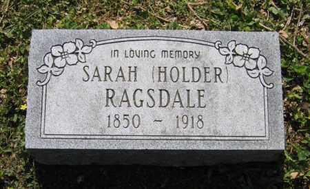 RAGSDALE, SARAH ANN - Lawrence County, Arkansas   SARAH ANN RAGSDALE - Arkansas Gravestone Photos