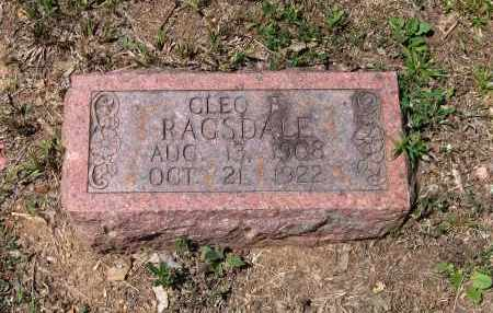 """RAGSDALE, WILLIAM CLEO """"CLEO B."""" - Lawrence County, Arkansas 