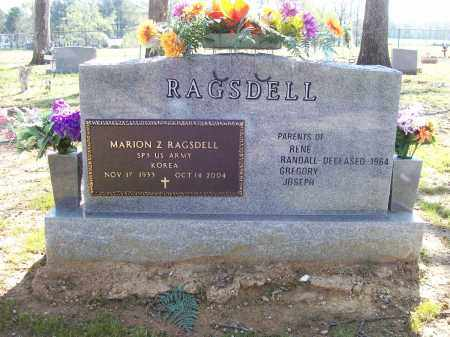 "RAGSDELL (VETERAN KOR), MARION ZANUEL ""BAY"" - Lawrence County, Arkansas 