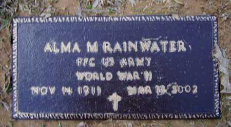 RAINWATER (VETERAN WWII), ALMA MARION - Lawrence County, Arkansas | ALMA MARION RAINWATER (VETERAN WWII) - Arkansas Gravestone Photos