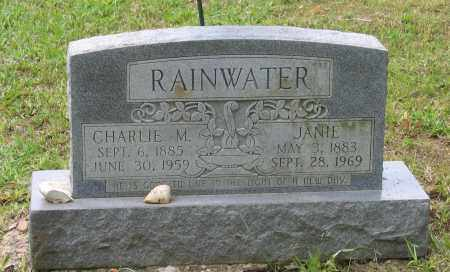 "RAINWATER, CHARLES MARION ""CHARLIE"" - Lawrence County, Arkansas 