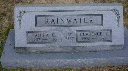 RAINWATER, ALPHA CHRISTINE - Lawrence County, Arkansas | ALPHA CHRISTINE RAINWATER - Arkansas Gravestone Photos