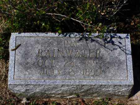 RAINWATER, INA - Lawrence County, Arkansas | INA RAINWATER - Arkansas Gravestone Photos