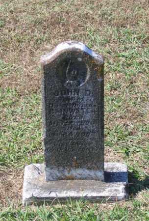 RAINWATER, JOHN D. - Lawrence County, Arkansas | JOHN D. RAINWATER - Arkansas Gravestone Photos