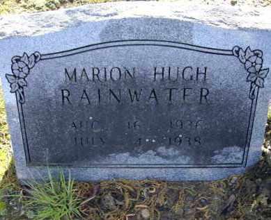 RAINWATER, MARION HUGH - Lawrence County, Arkansas   MARION HUGH RAINWATER - Arkansas Gravestone Photos