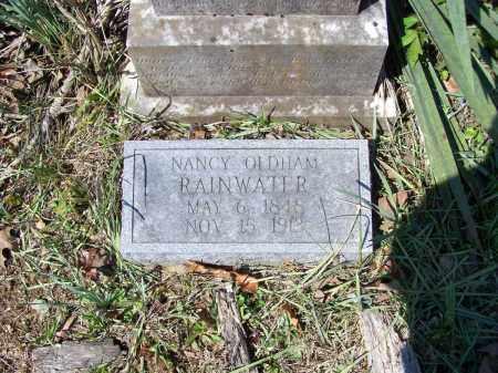 RAINWATER, NANCY W. A. OLDHAM - Lawrence County, Arkansas | NANCY W. A. OLDHAM RAINWATER - Arkansas Gravestone Photos