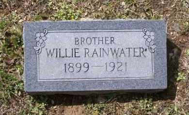 "RAINWATER, WILLIAM MARION ""WILLIE"" - Lawrence County, Arkansas   WILLIAM MARION ""WILLIE"" RAINWATER - Arkansas Gravestone Photos"