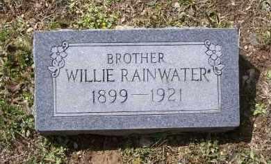 "RAINWATER, WILLIAM MARION ""WILLIE"" - Lawrence County, Arkansas | WILLIAM MARION ""WILLIE"" RAINWATER - Arkansas Gravestone Photos"