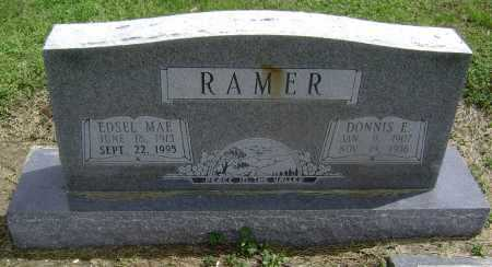 RAMER, DONNIS ELBERT - Lawrence County, Arkansas | DONNIS ELBERT RAMER - Arkansas Gravestone Photos