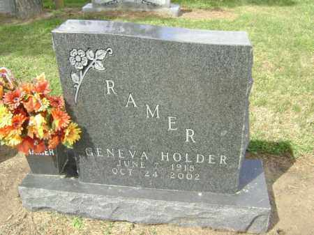RAMER, GENEVA - Lawrence County, Arkansas | GENEVA RAMER - Arkansas Gravestone Photos