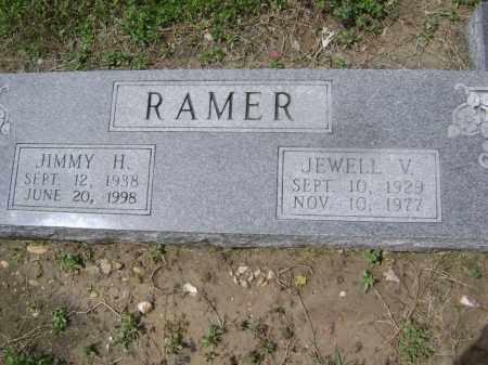 "RAMER, HARRELL JAMES ""JIMMY"" - Lawrence County, Arkansas | HARRELL JAMES ""JIMMY"" RAMER - Arkansas Gravestone Photos"