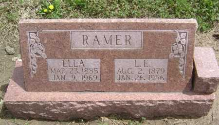 RAMER, L. E. - Lawrence County, Arkansas | L. E. RAMER - Arkansas Gravestone Photos