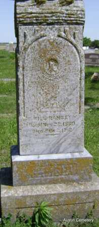 RAMSEY, WILL - Lawrence County, Arkansas | WILL RAMSEY - Arkansas Gravestone Photos