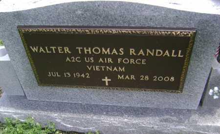 RANDALL (VETERAN VIET), WALTER THOMAS - Lawrence County, Arkansas   WALTER THOMAS RANDALL (VETERAN VIET) - Arkansas Gravestone Photos