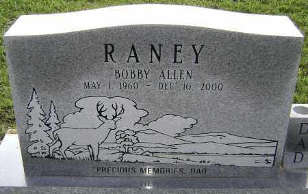 RANEY, BOBBY ALLEN - Lawrence County, Arkansas   BOBBY ALLEN RANEY - Arkansas Gravestone Photos