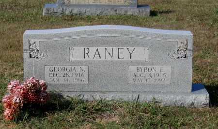 RANEY, GEORGIA NAOMI - Lawrence County, Arkansas   GEORGIA NAOMI RANEY - Arkansas Gravestone Photos