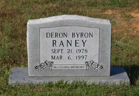 RANEY, DERON BYRON - Lawrence County, Arkansas | DERON BYRON RANEY - Arkansas Gravestone Photos