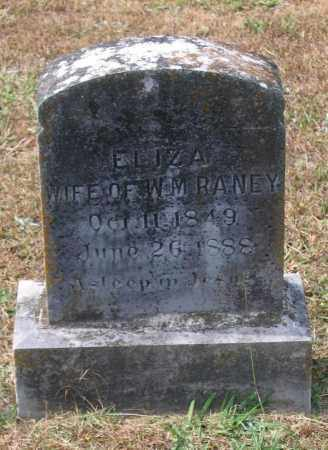 FOSTER RANEY, ELIZA - Lawrence County, Arkansas | ELIZA FOSTER RANEY - Arkansas Gravestone Photos