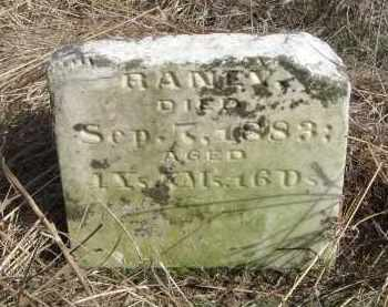 RANEY, JOHN ABSALOM - Lawrence County, Arkansas | JOHN ABSALOM RANEY - Arkansas Gravestone Photos
