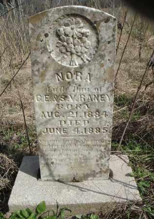 RANEY, NORA - Lawrence County, Arkansas | NORA RANEY - Arkansas Gravestone Photos