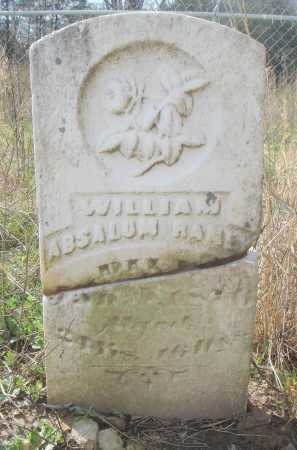 RANEY, WILLIAM ABSALUM - Lawrence County, Arkansas | WILLIAM ABSALUM RANEY - Arkansas Gravestone Photos