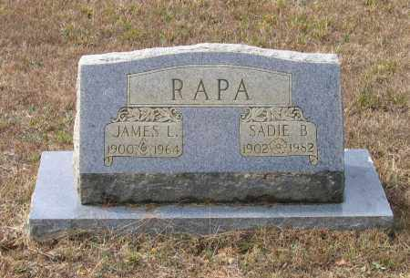 RAPA, SADIE B. - Lawrence County, Arkansas | SADIE B. RAPA - Arkansas Gravestone Photos