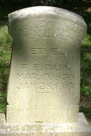RASH, ETHEL - Lawrence County, Arkansas | ETHEL RASH - Arkansas Gravestone Photos