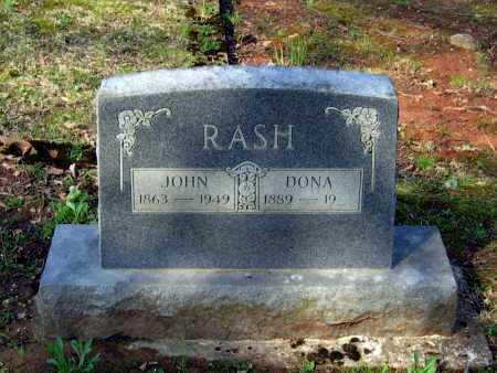 RASH, JOHN ROB - Lawrence County, Arkansas | JOHN ROB RASH - Arkansas Gravestone Photos