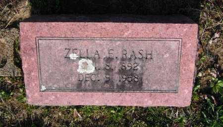 RASH, ZELLA EDNA - Lawrence County, Arkansas | ZELLA EDNA RASH - Arkansas Gravestone Photos
