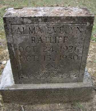 RATLIFF, ALMA EVELYN - Lawrence County, Arkansas | ALMA EVELYN RATLIFF - Arkansas Gravestone Photos