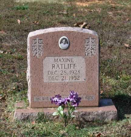 RATLIFF, CLARA MAXINE - Lawrence County, Arkansas   CLARA MAXINE RATLIFF - Arkansas Gravestone Photos