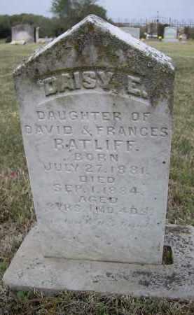 RATLIFF, DAISY E. - Lawrence County, Arkansas   DAISY E. RATLIFF - Arkansas Gravestone Photos
