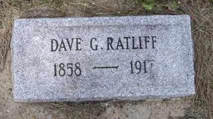 "RATLIFF, DAVID G.  ""DAVE"" - Lawrence County, Arkansas | DAVID G.  ""DAVE"" RATLIFF - Arkansas Gravestone Photos"