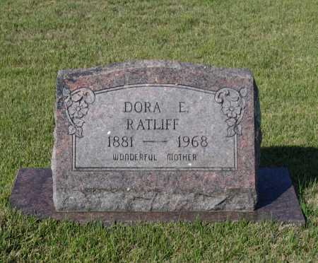 WHITE RATLIFF, DORA ELIZABETH - Lawrence County, Arkansas   DORA ELIZABETH WHITE RATLIFF - Arkansas Gravestone Photos