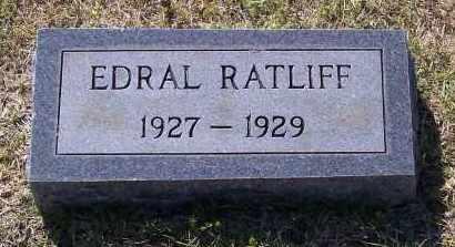 RATLIFF, EDRAL - Lawrence County, Arkansas | EDRAL RATLIFF - Arkansas Gravestone Photos