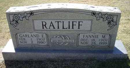 RATLIFF, GARLAND EDWARD - Lawrence County, Arkansas | GARLAND EDWARD RATLIFF - Arkansas Gravestone Photos