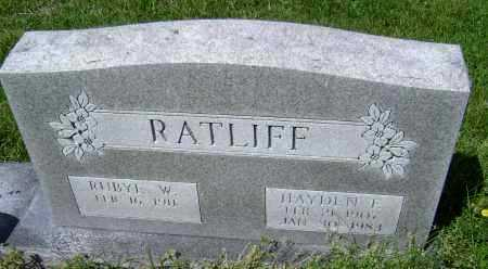 RATLIFF, HAYDEN EDWARD - Lawrence County, Arkansas | HAYDEN EDWARD RATLIFF - Arkansas Gravestone Photos